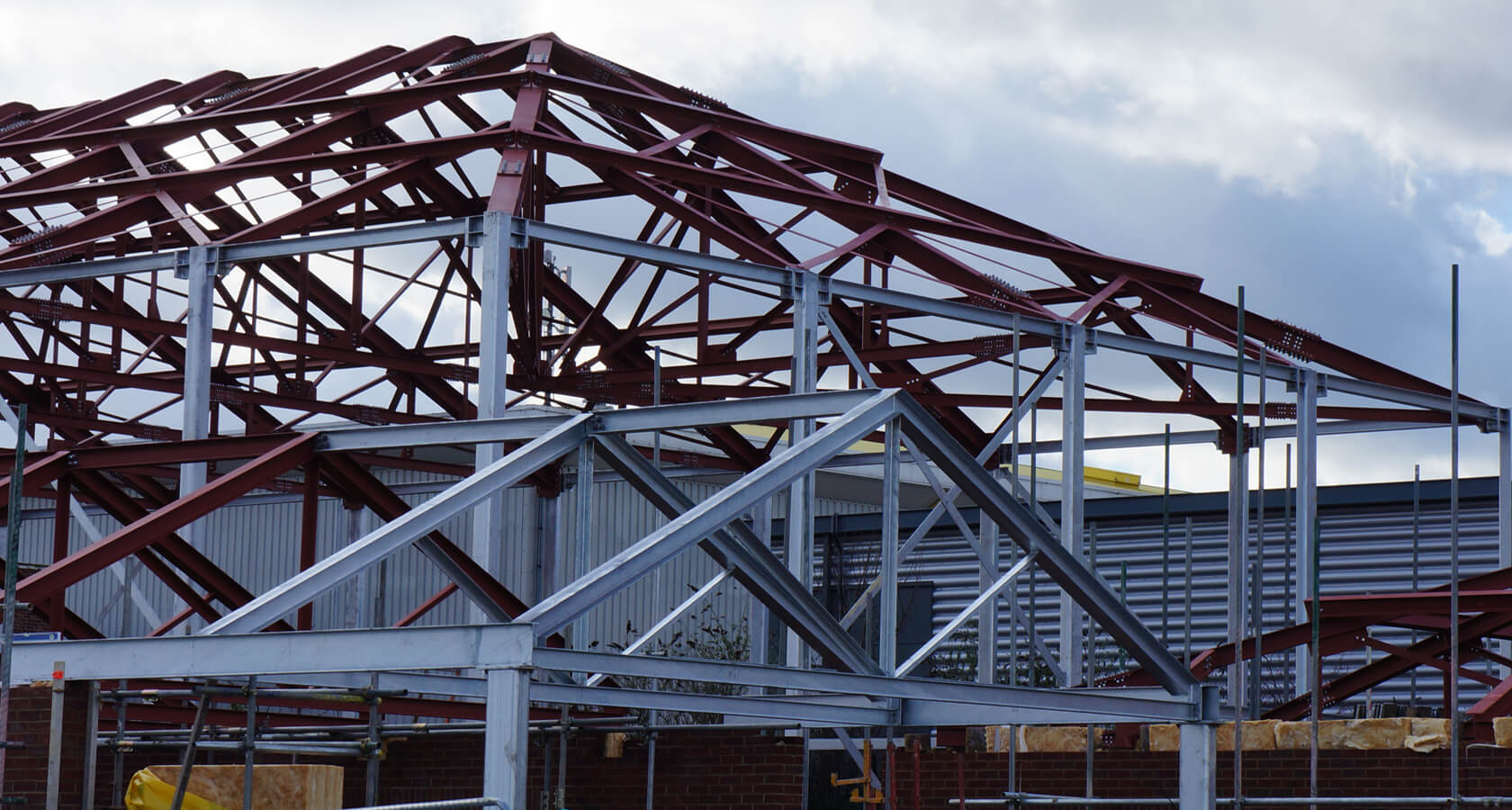 St Marks Steel Structure 1